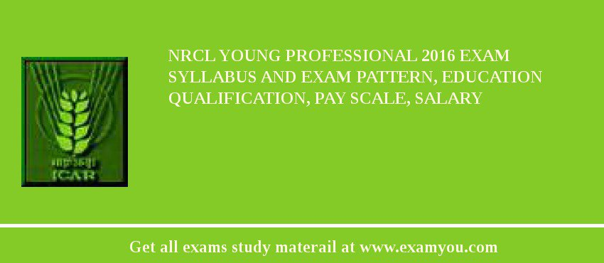 NRCL Young Professional 2020 Exam Syllabus And Exam Pattern, Education Qualification, Pay scale, Salary