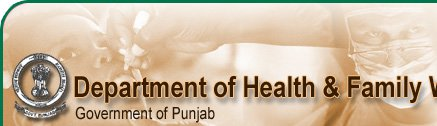 Department of Health & Family Welfare Punjab Recruitment 2018 for 88 House Surgeon